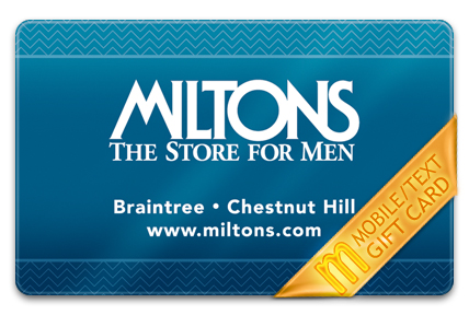 Miltons M-Gift Card