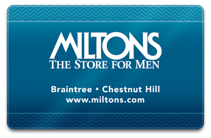 Miltons Physical Gift Card